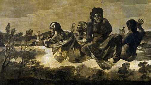 las parcas de Goya